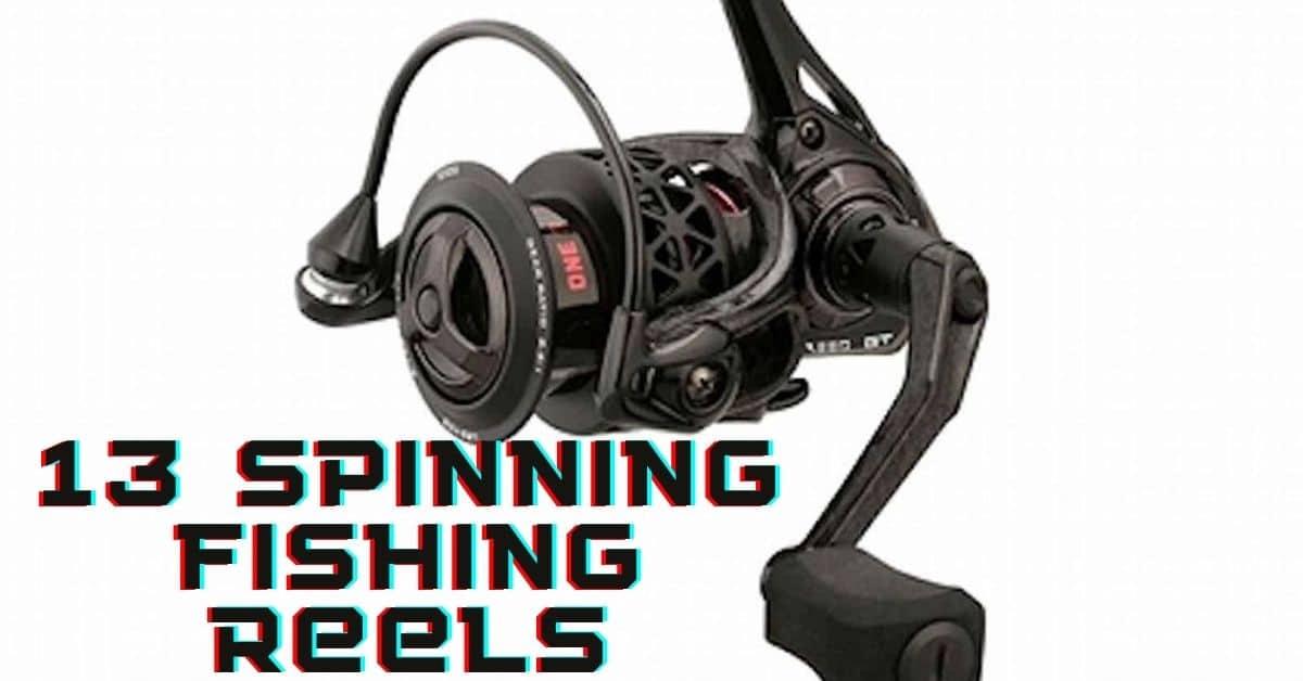 13 spinning fishing reels