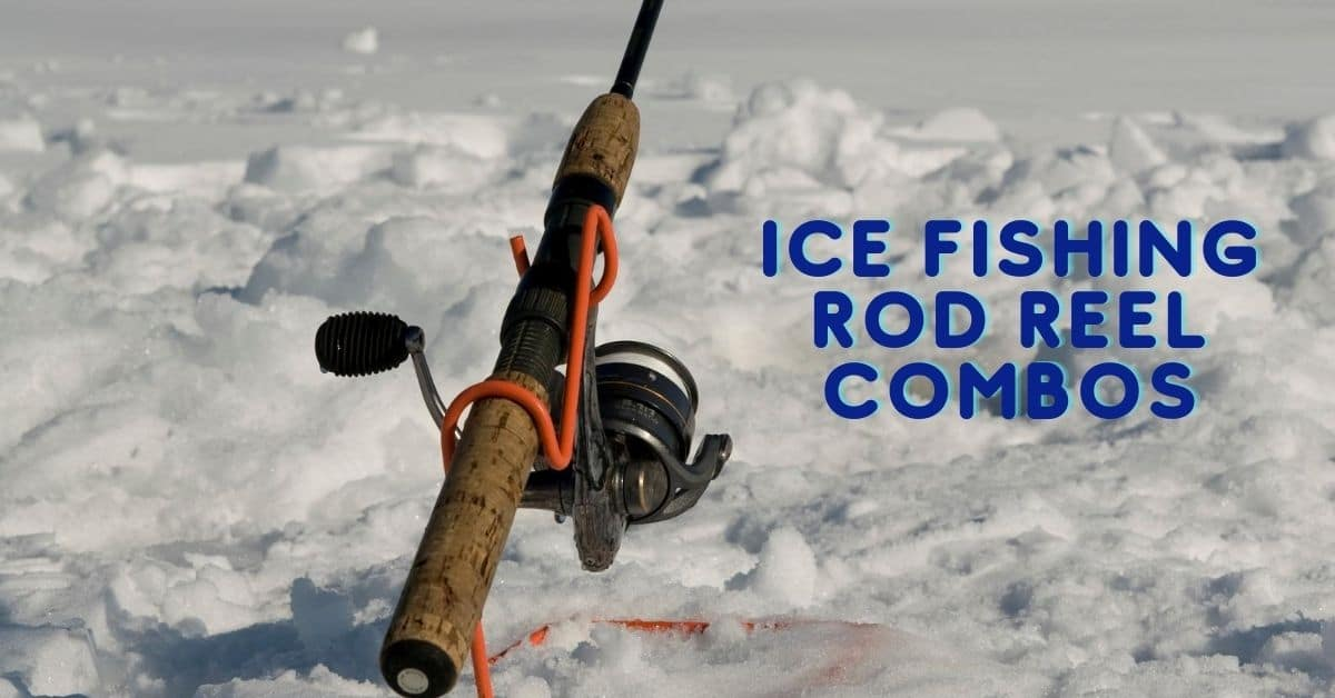 Ice fishing rod and reel combo