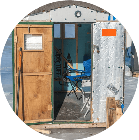 Ice Fishing House Supplies