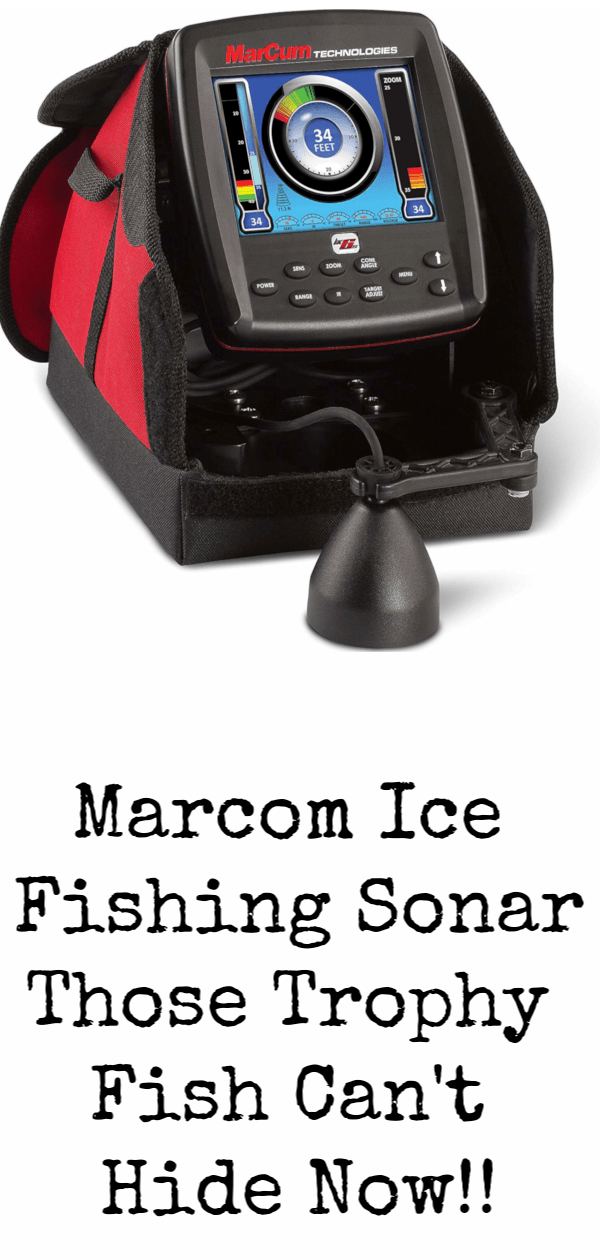 Marcum Ice Fishing Sonar