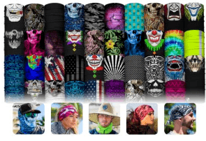 SA Face Shield Designs