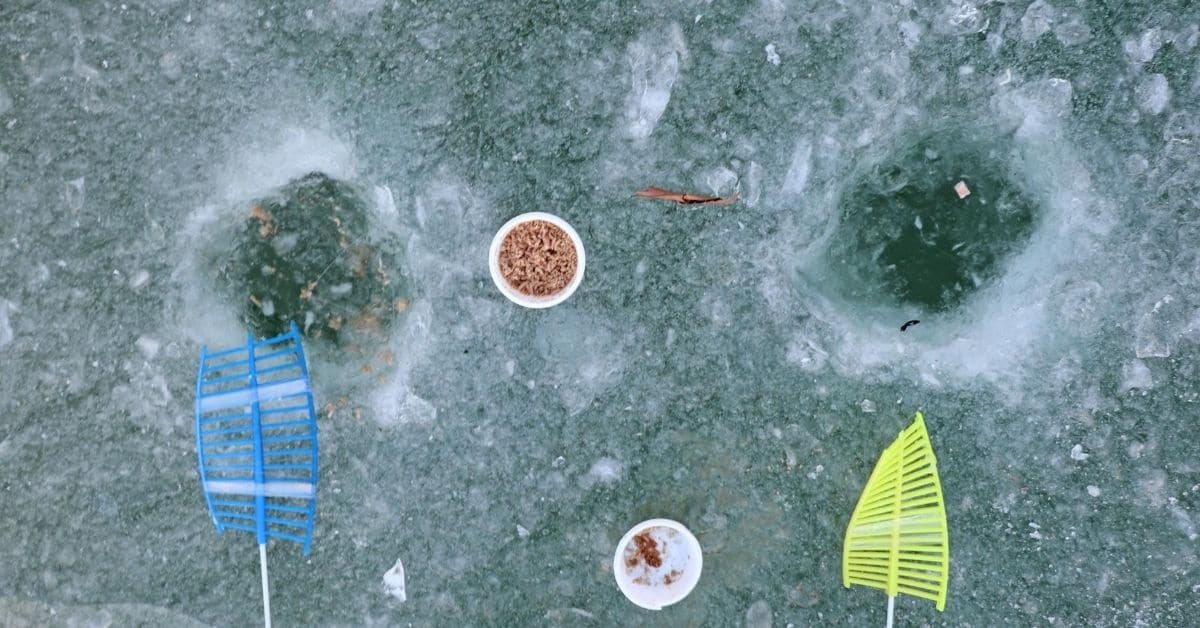 Ice Fishing holes