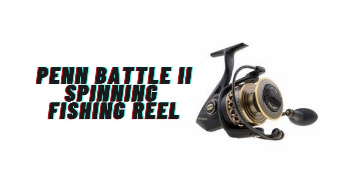 Penn Battle 2 Spinning Fishing Reel.