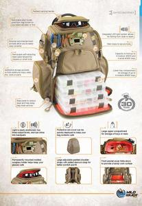 Tackle Tek Backpack