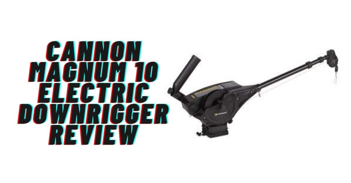 cannon magnum 10 electric downriger review
