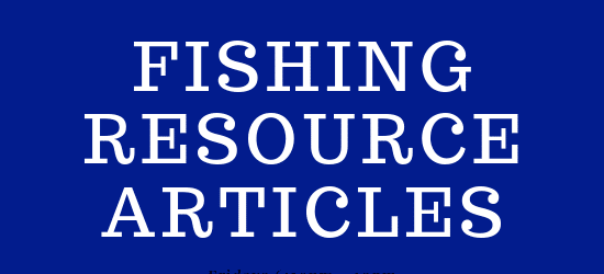 Fishing resource articles