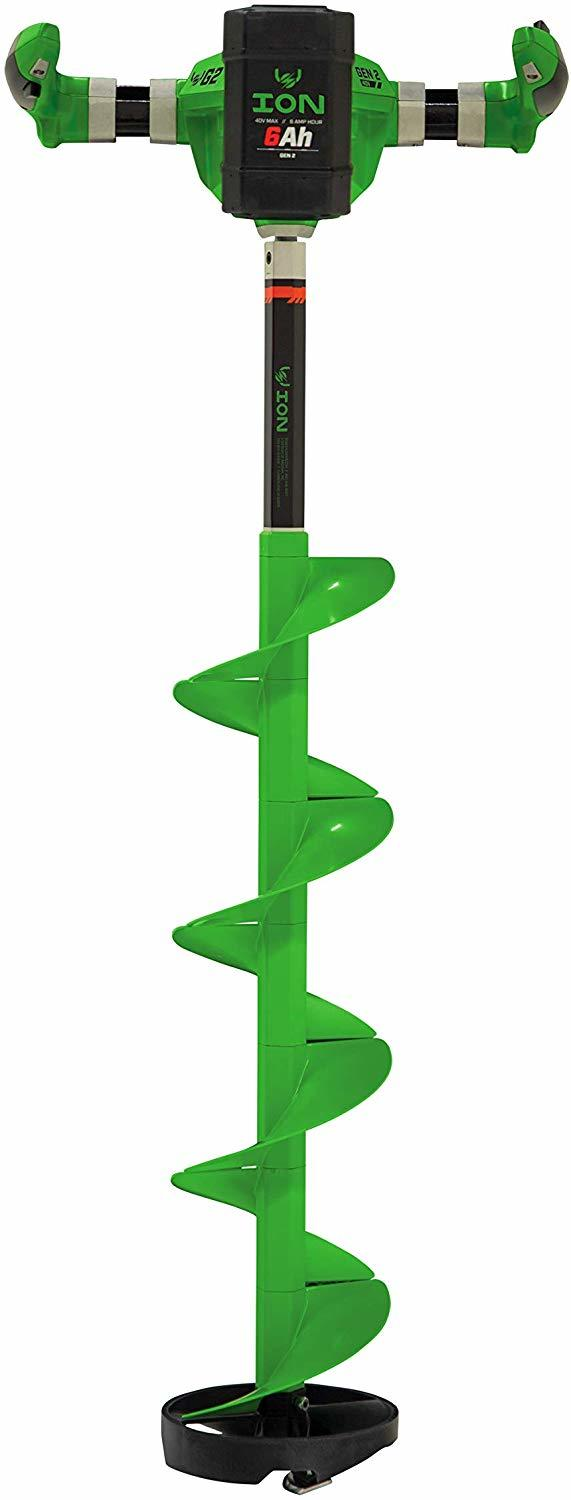 Green Ion G2 electric ice auger