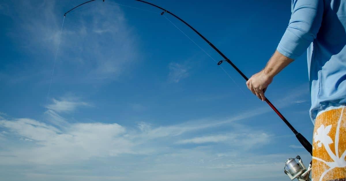 Bent Fishing Rod