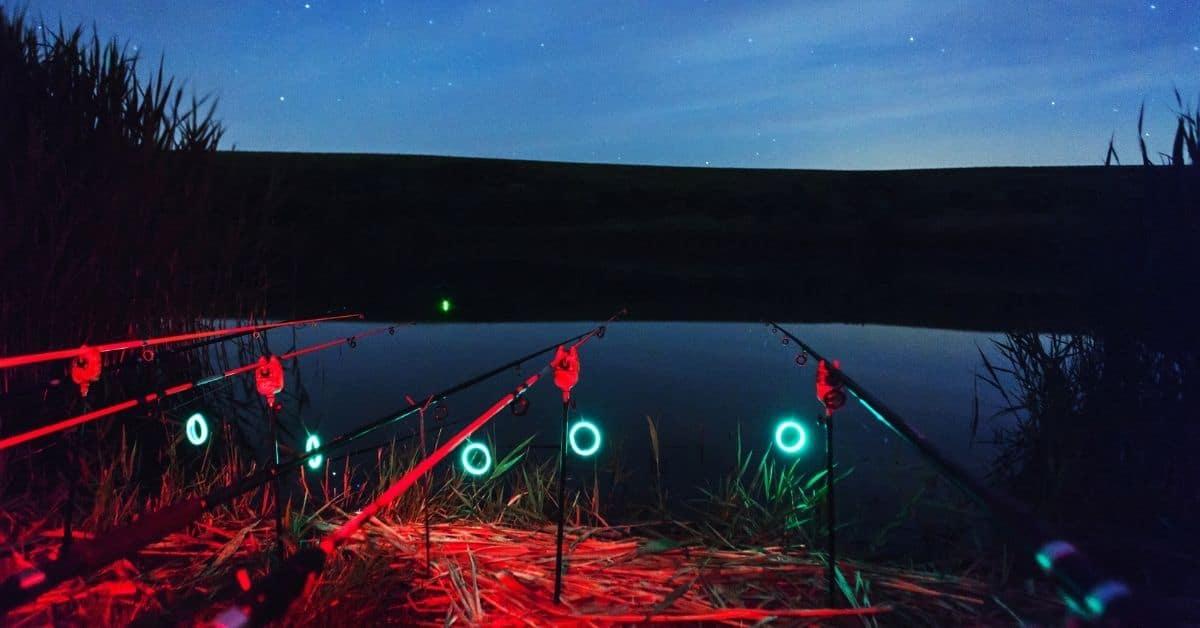 Lights on Fishing Rods